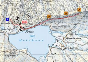 Zustieg Klettergarten Bonistock