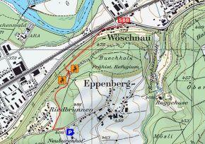 Zustieg Klettergarten Eppenberg