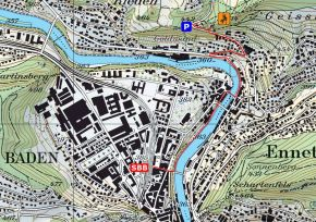 Zustieg Klettergarten Hertenstein