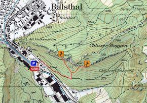 Zustieg Klettergarten Klus-Balsthal