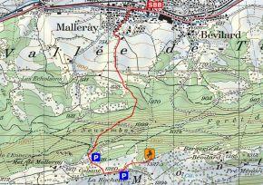 Zustieg Klettergarten La Rochette