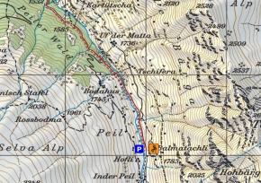Zustieg Klettergarten Peil Balmagütsch