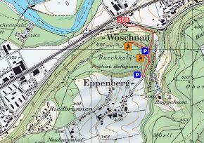 Zustieg Klettergarten Roggenhuser Steinbruch