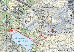 Zustieg Klettergarten Widerstein