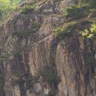 Kletterroute in Arcegno