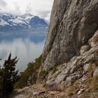Blick auf den Vierwaldstättersee vom Klettergarten Sunneplättli