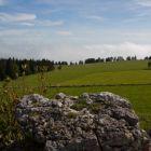 Stand auf dem Felsen